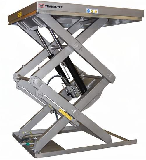 Table l vatrice double et triple ciseaux verticaux gph for Table elevatrice a ciseaux