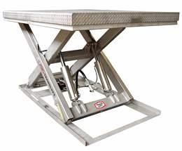 Table l vatrice et chariot de levage gph levalair for Table elevatrice